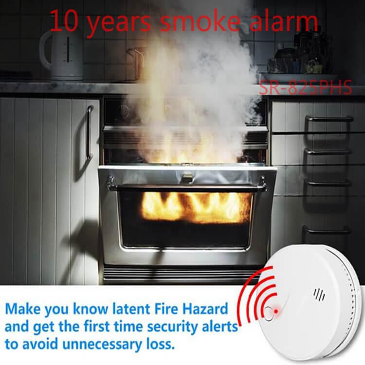 10 year smoke alarm smoke detectors for sale for home