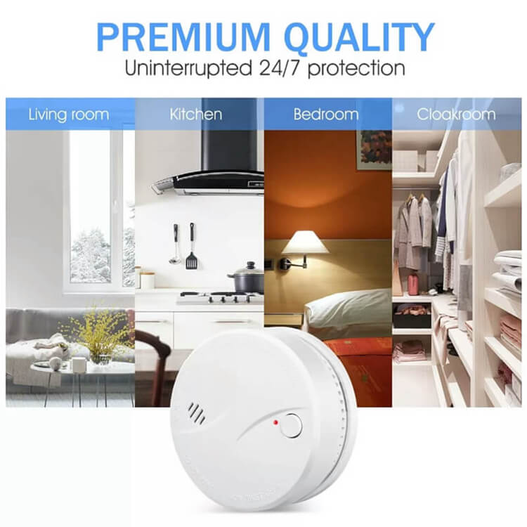 battery operated standalone fire smoke detectors for sale