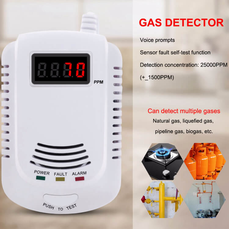 China supplier best natural gas detector