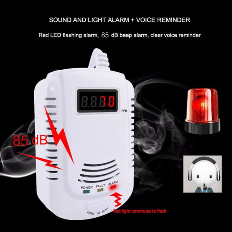 best natural gas detector to protect your home gas safe