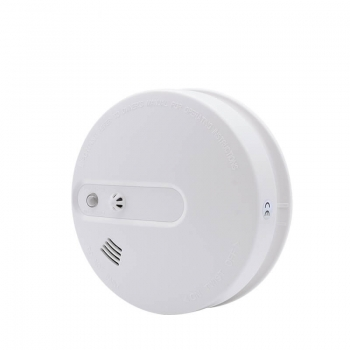 dual sensor smoke alarm with heat sensor