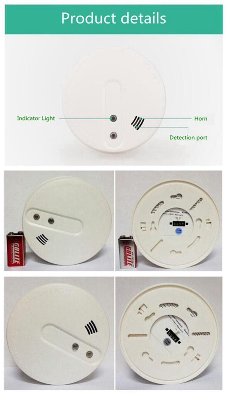 smoke detector alarm mains smoke detector for kitchen