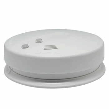 mains smoke detector with 9v battery