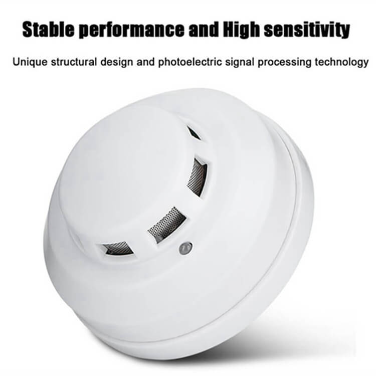 hard wired commercial smoke detector
