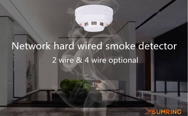 Network Photoelectric 2-Wire/4-Wire types of smoke alarms