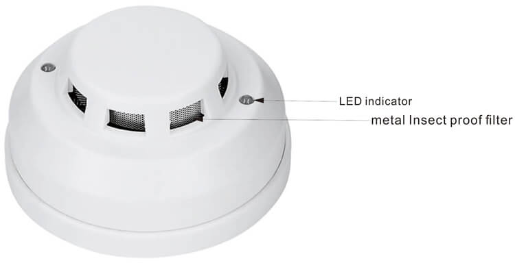best hard wired smoke detectors with Remote LED indicator and Relay output