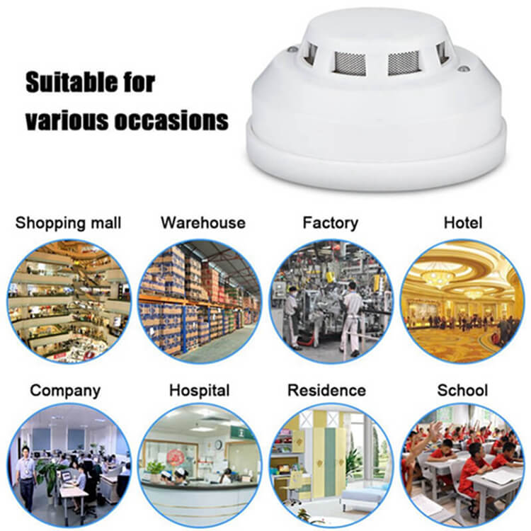 best hard wired smoke detectors and types of smoke alarms suit for any business place