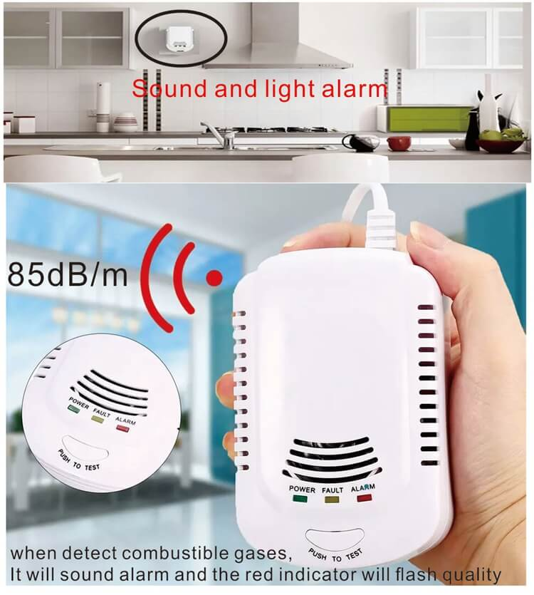 best natural gas leak detector and lpg gas leakage detector alarm for all kitchens