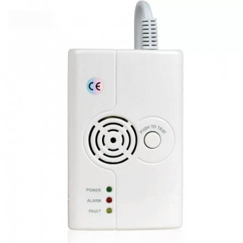 AC power combustible gas detector natural gas detector gas alarm for home