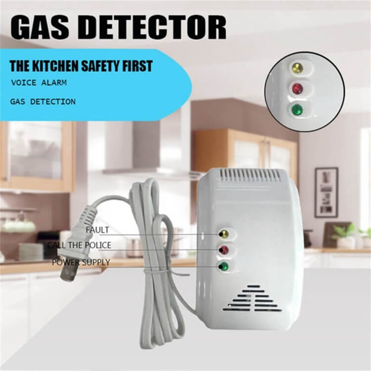 lp gas detector lpg gas sensor with led indication