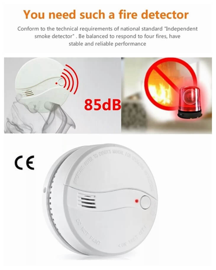 cheap photoelectric detectors with smoke detector cost