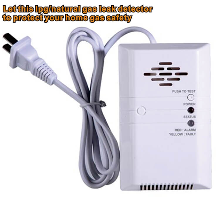 lpg gas alarm gas leak sensor for home use