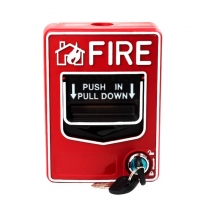 fire button fire alarm call point fire switch with key set