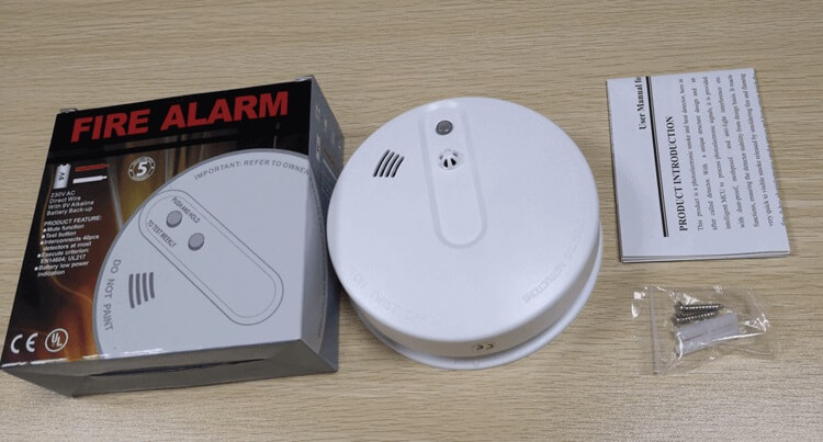 home smoke detectors to anti fire