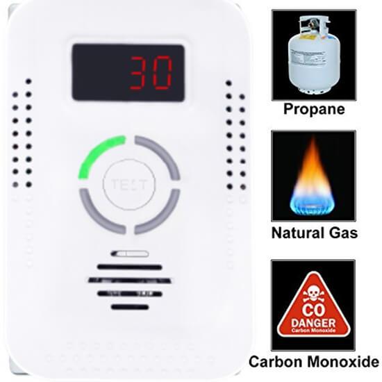 Do Carbon Monoxide Detectors Detect Natural Gas Leaks ?