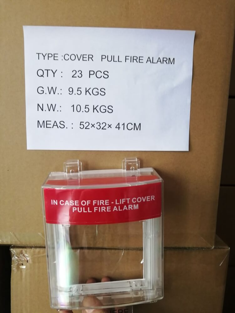 fire alarm call point covers