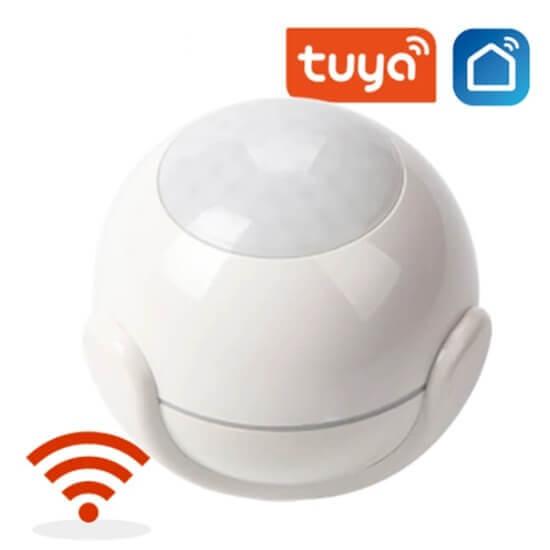 what's the working principle of the tuya smart motion sensor ?